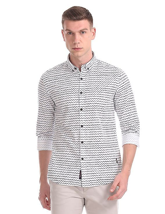 7c1037fbc5f1 Buy Mens UDSH0335 Ivory Mens Shirt online at NNNOW.com