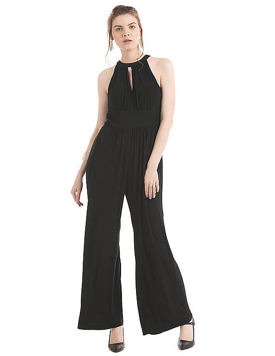 Flat Rs.500 Off on Rs.2,500 For New Users on First Purchase | AVIRATE  Jewel Neck Jumpsuit By NNNOW @ Rs.2,880