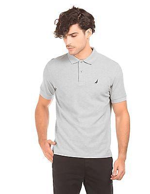 Nautica Heathered Slim Fit Polo Shirt