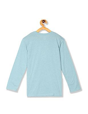 The Children's Place Blue Boys Long Sleeve Graphic T-Shirt