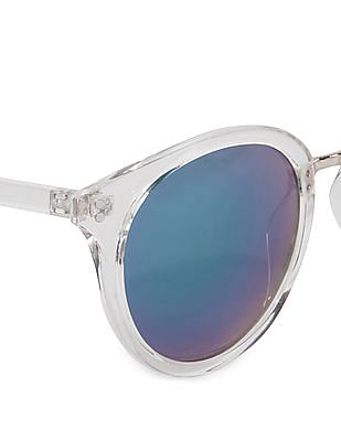 Aeropostale Mirrored Cat Eye Sunglasses