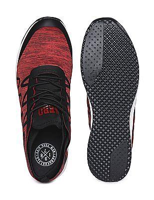 Aeropostale Heathered Low Top Sneakers