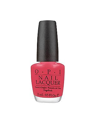 O.P.I Nail Lacquer - Charged Up Cherry