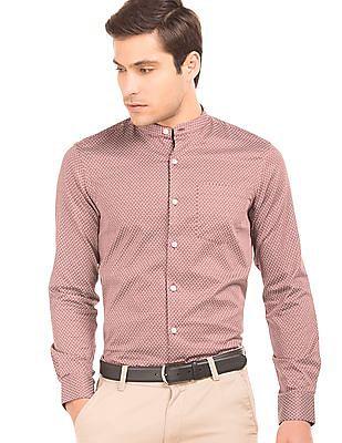 Arrow Paisley Print Slim Fit Shirt
