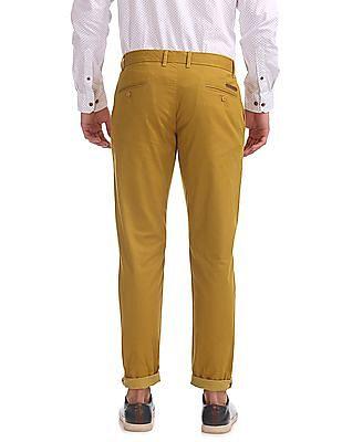 Ruggers Regular Fit Printed Trousers