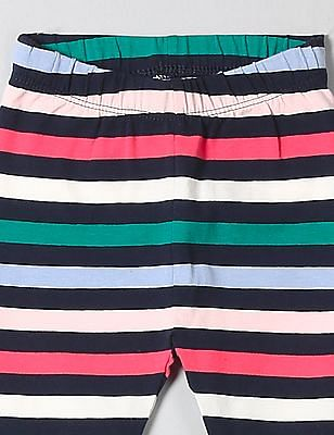 GAP Toddler Girl Multi Colour Print Leggings In Stretch Jersey