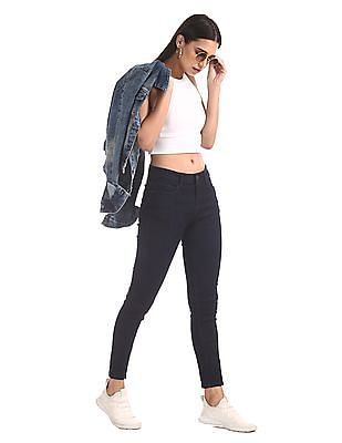 Cherokee Blue Skinny Fit Ankle Length Jeans