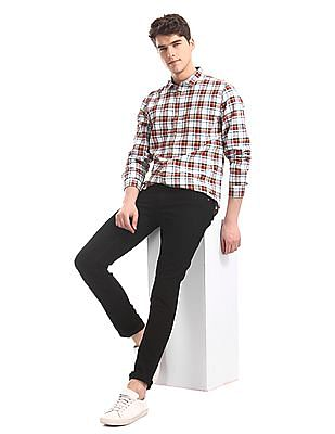 Colt Black Ripped Skinny Fit Jeans
