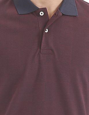 Arrow Regular Fit Mercerised Cotton Polo Shirt