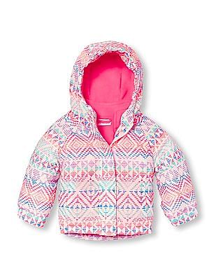 The Children's Place Baby Printed Three-In-One Jacket