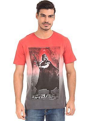 Colt Darth Vader Print Cotton T-Shirt