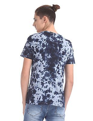 Flying Machine Regular Fit Tie And Dye T-Shirt
