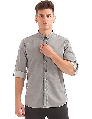 Cherokee Regular Fit Patterned Shirt