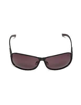 Flying Machine Black Rectangular Frame Gradient Sunglasses
