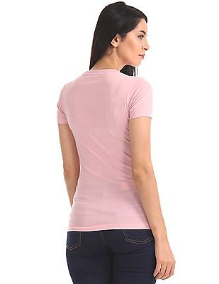 Aeropostale Brand Print Short Sleeve T-Shirt