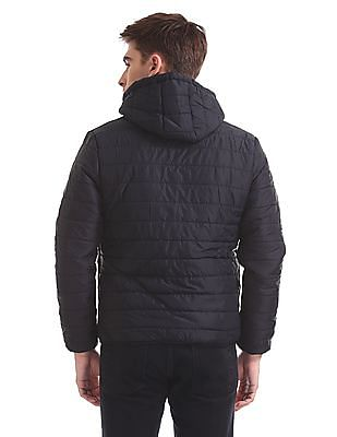 Flying Machine Hooded Quilted Jacket