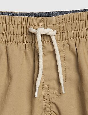GAP Baby Boy Pull-On Khaki Shorts