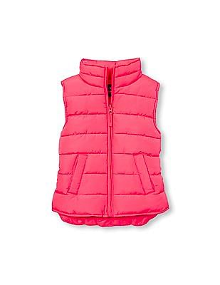 The Children's Place Girls Solid Puffer Vest