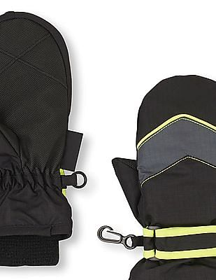The Children's Place Toddler Boy Black 3 In 1 Mittens