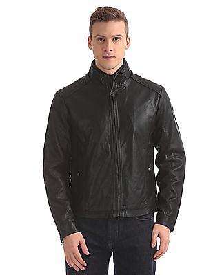 U.S. Polo Assn. Denim Co. Panelled Biker Jacket
