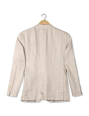 U.S. Polo Assn. Single Breasted Linen Blazer