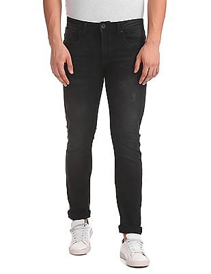 Flying Machine Skinny Fit Solid Jeans