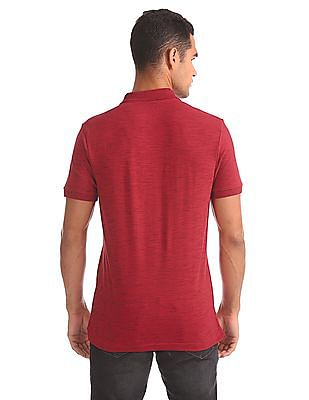 Aeropostale Regular Fit Textured Polo Shirt