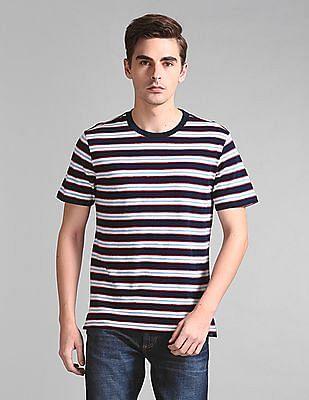 GAP Vintage Slub Jersey Stripe Crewneck T-Shirt