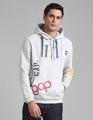 GAP Remix Logo Popover Sweatshirt