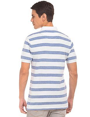 U.S. Polo Assn. Striped Button Down Polo Shirt