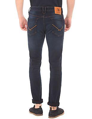 U.S. Polo Assn. Denim Co. Crinkled Skinny Fit Jeans