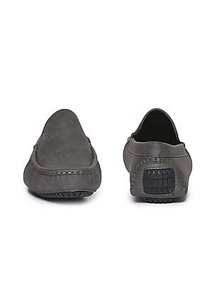 U.S. Polo Assn. Contrast Sole Solid Loafers