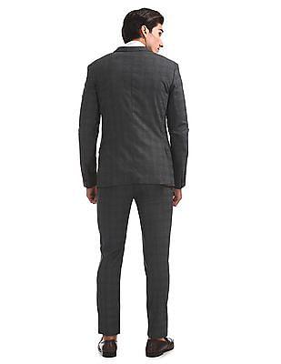 Arrow Newyork Patterned Three Piece Suit
