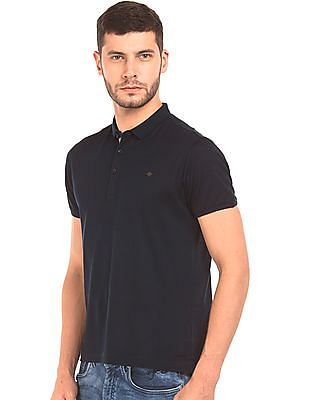Ed Hardy Solid Pique Polo Shirt