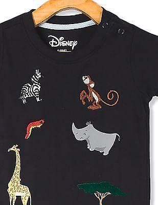 Colt Blue Boys Disney Character Graphic Crew Neck T-Shirt