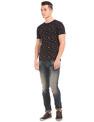 Flying Machine Laser Wash Slim Tapered Fit Jeans