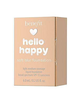 Benefit Cosmetics Hello Happy Soft Blur Foundation - 4