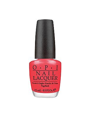 O.P.I Nail Lacquer - I Eat Mainly Lobster