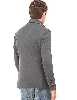Arrow Sports Detachable Panel Slim Fit Blazer
