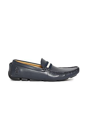 U.S. Polo Assn. Vamp Strap Round Toe Loafers