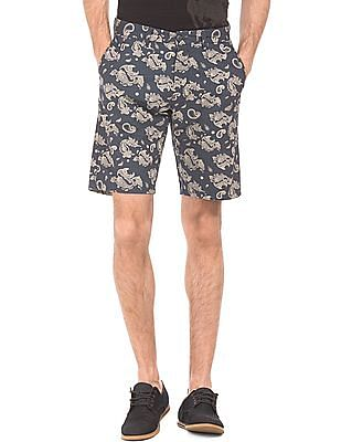 U.S. Polo Assn. Denim Co. Slim Fit Paisley Print Shorts