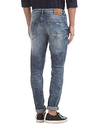 Aeropostale Super Skinny Fit Ripped Jeans