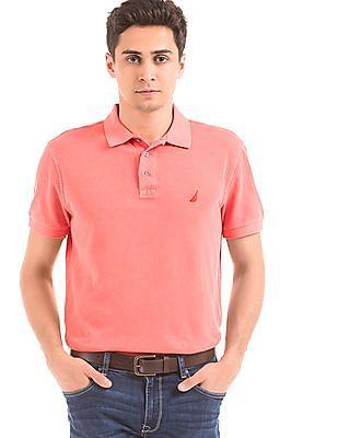 Nautica Pique Slim Fit Polo Shirt