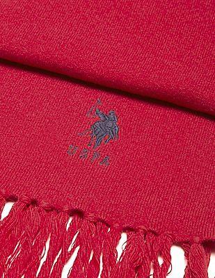 U.S. Polo Assn. Tasselled Lambswool Mufflers