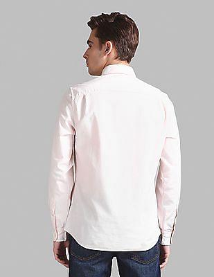 GAP Lived-In Stretch Oxford Shirt