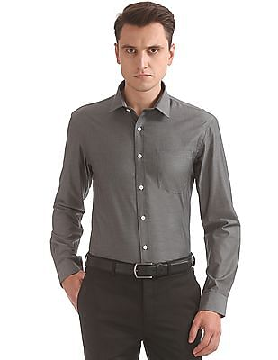 Arrow Slim Fit Herringbone Shirt