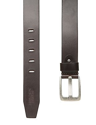 Flying Machine Solid Leather Belt