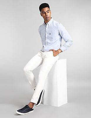 GAP Modern Khakis In Skinny Fit With GapFlex