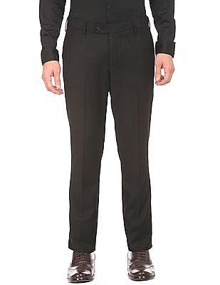 USPA Tailored Adjustable Waist Slim Fit Trousers