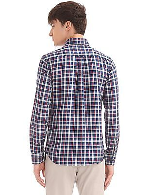 U.S. Polo Assn. Button Down Collar Check Shirt
